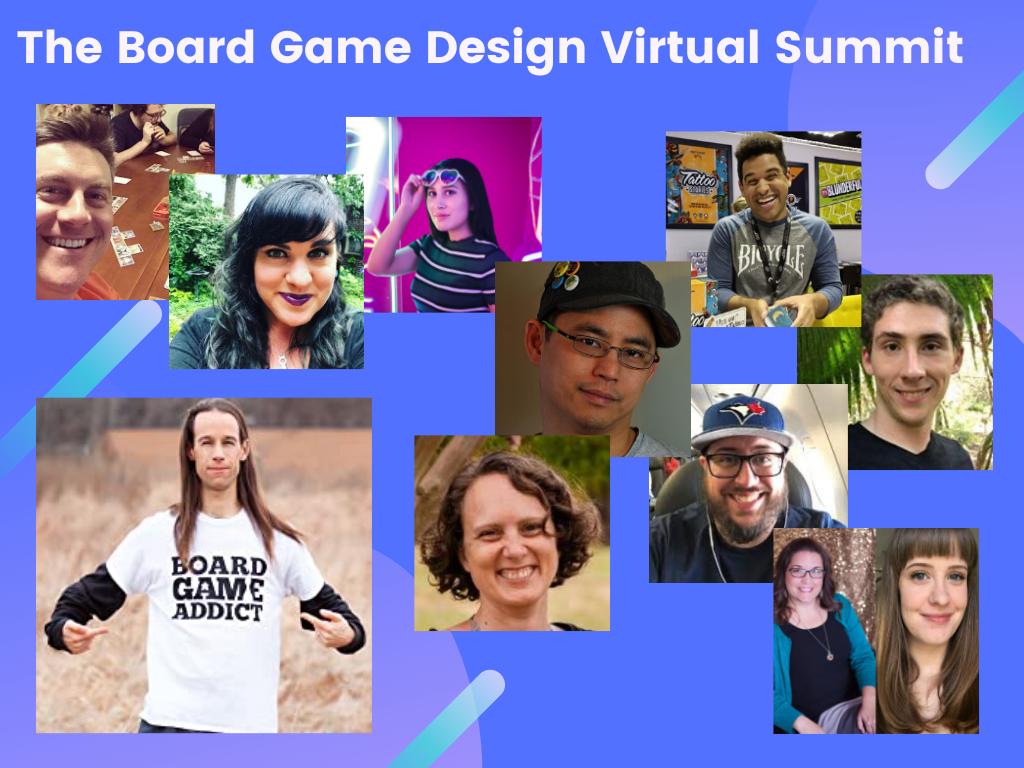 The Board Game Design Virtual Summit presented by Joe Slack